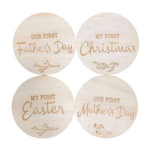 Baby Milestone Plaques - Special Firsts